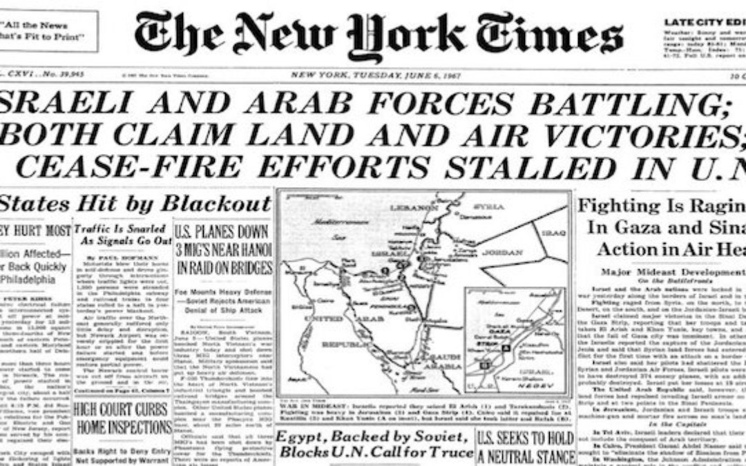 The Six-Day-War: Fifty Years Ago Underdog Israel Changed The World