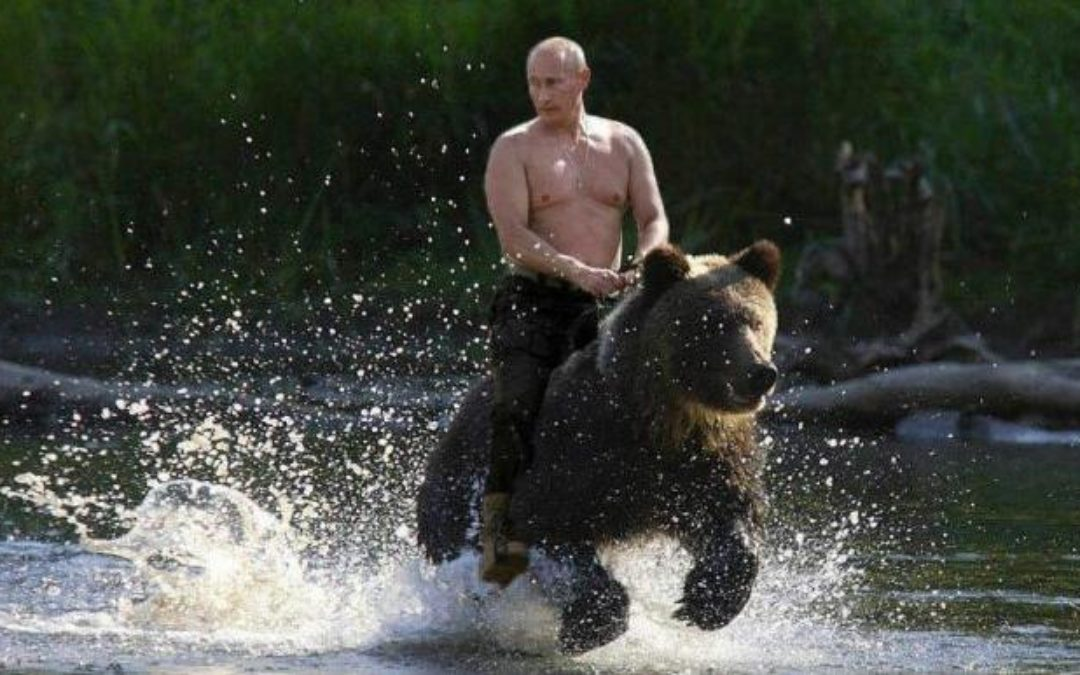 """Putin says """"I am Not a Woman, so I Don't have Bad Days"""""""
