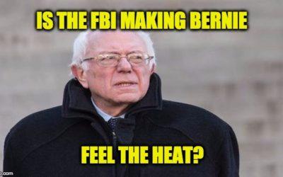 Bernie Sanders Is Not Feeling The Bern—But May Be Feeling FBI Heat