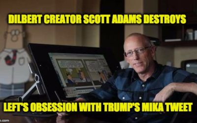 Dilbert Creator Scott Adams Mocks Left's Obsession With Trump's Tweets