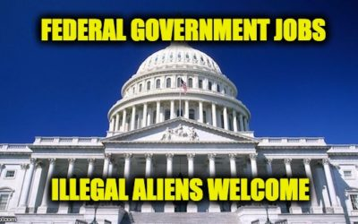 Democrat's Amendment To Spending Bill Allows Illegals to Get Federal Jobs