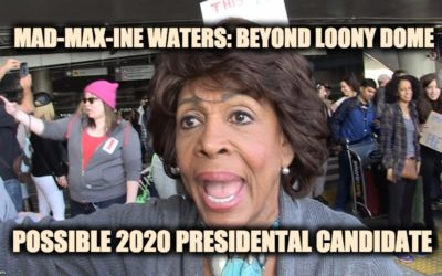 Crazy Maxine Waters May Be Running For POTUS In 2020