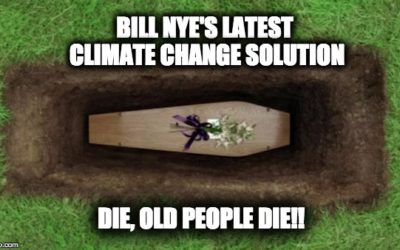 """Bill Nye : Old Folks Need To """"Bite The Big One"""" To Help End Global Warming"""