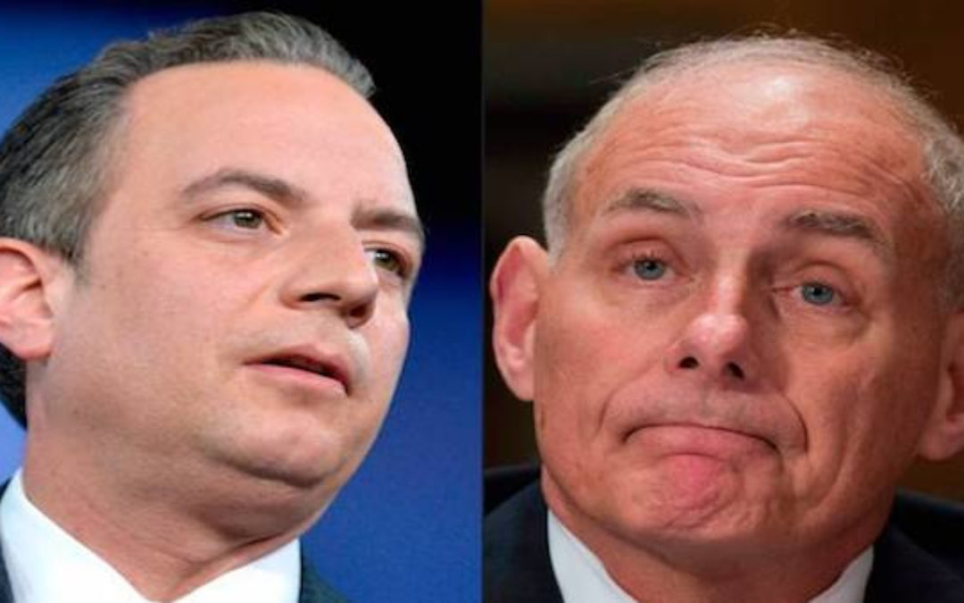 Reince Priebus OUT Gen. Kelly New Chief-Of-Staff (Updated w/ Reince Interview)