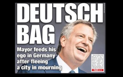 New York Post Calls Out Anti-Cop Mayor DeBlasio With EPIC Front Cover