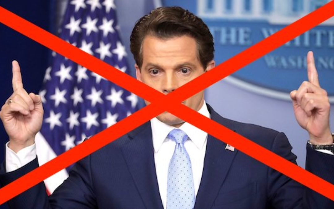 The Mooch Has Been Cut Loose, Scaramucci OUT As Comms Director