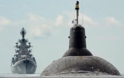 RUSSIA SHOW OF FORCE! Sends Strategic Missile Sub To Baltic, Hosts Chinese Warships For Exercise