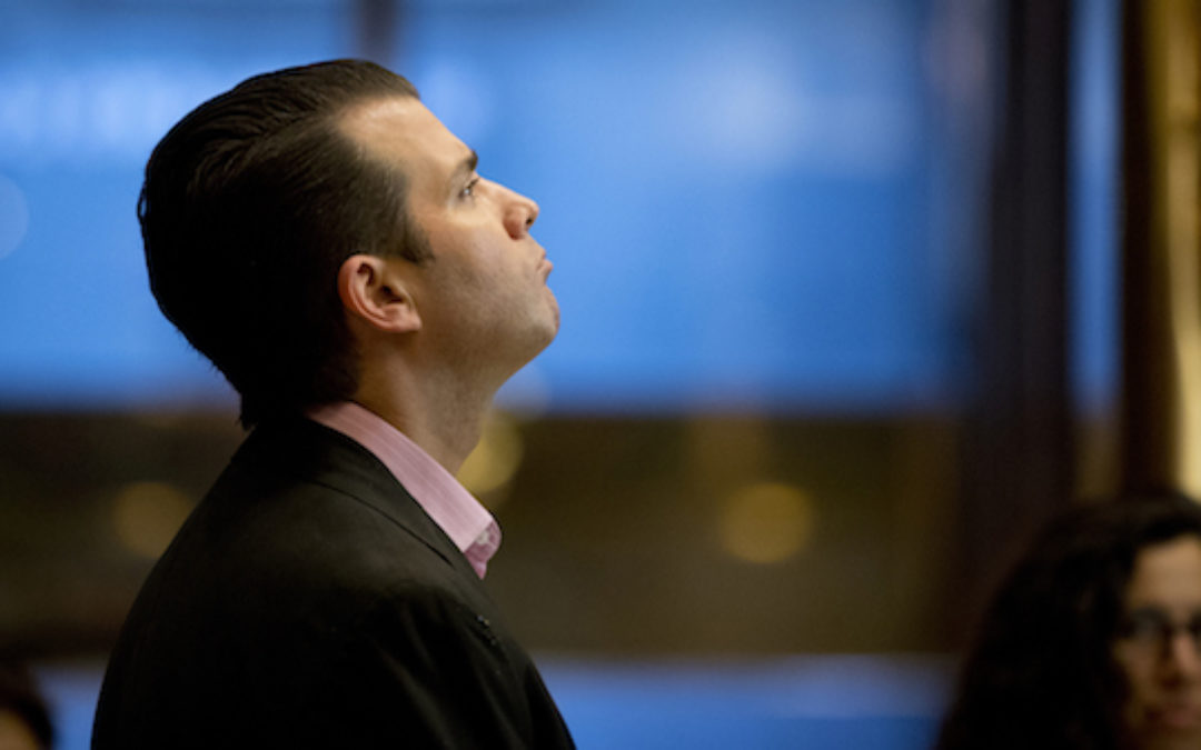 Adding Fire To the Smoke: Trump Jr. Releases Russian Meeting Email Chain