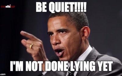 1,063 Documented Examples of Barack Obama's Lying, Lawbreaking, Corruption, Cronyism, Hypocrisy, Waste, Etc.