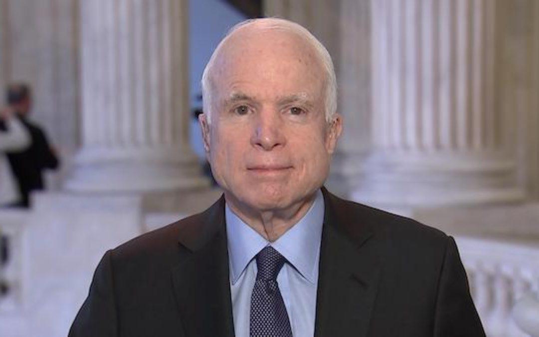 Please Join Me In Praying For John McCain