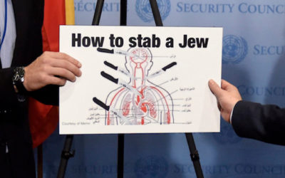 The U.N.'s Antisemitism Is Showing Again
