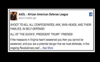 Facebook:  Advocating Mass Murder Of Trump Supporters Within Our Standards