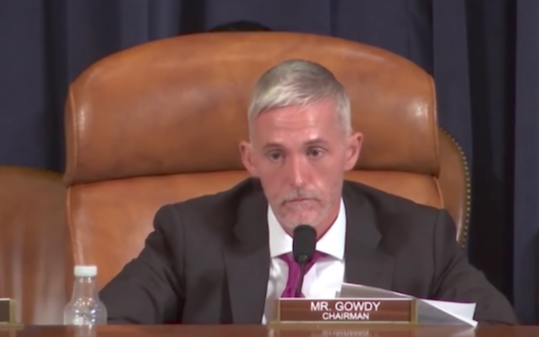 Trey Gowdy Slams Feds for Classifying Marijuana as Worse Than Cocaine or Meth