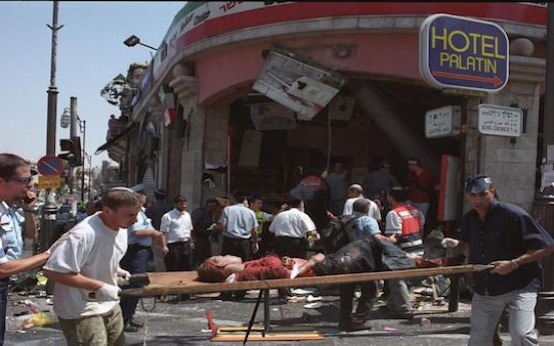 """The Street Was Covered with Blood and Bodies,"" The Sbarro Bombing"