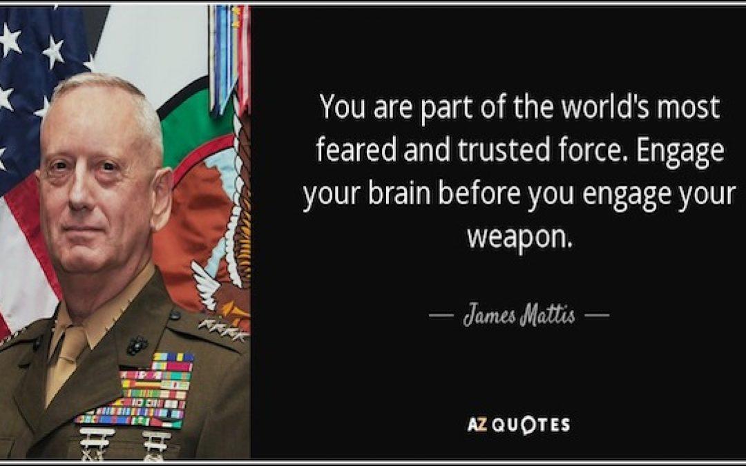 General Mattis Releases Tough Statement About North Korea