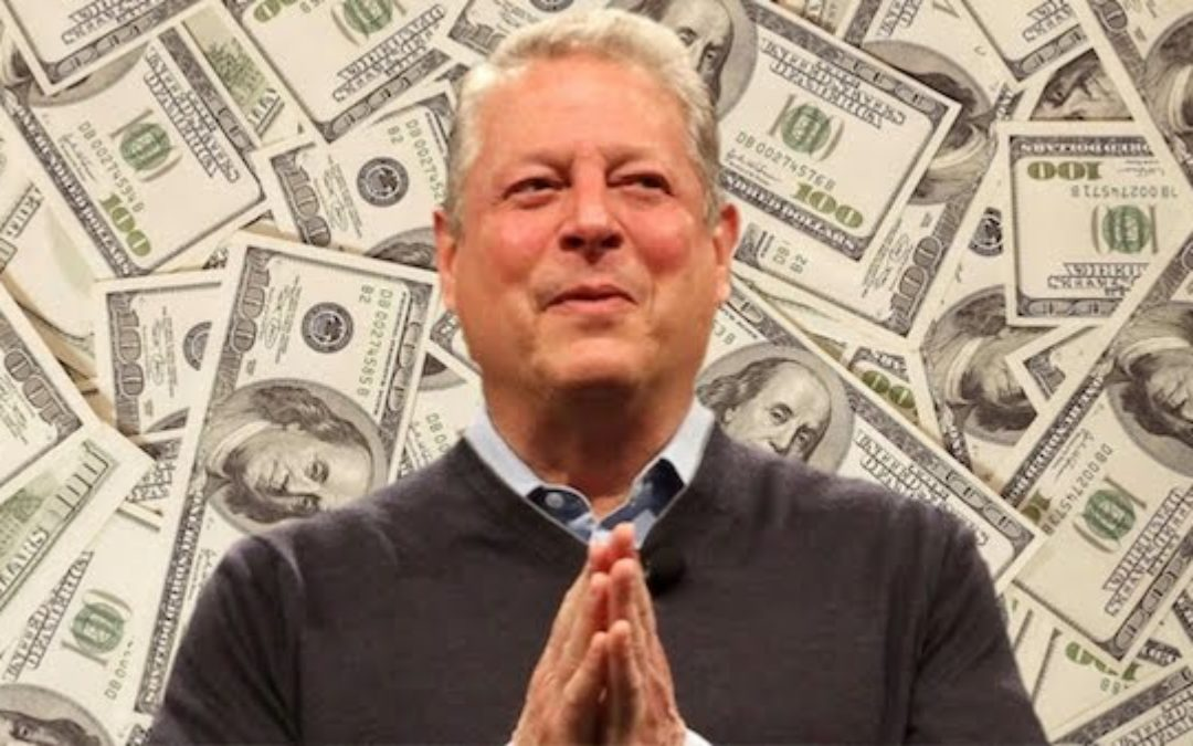 How Al Gore Fooled The World Into Paying For His Giant Carbon Footprint