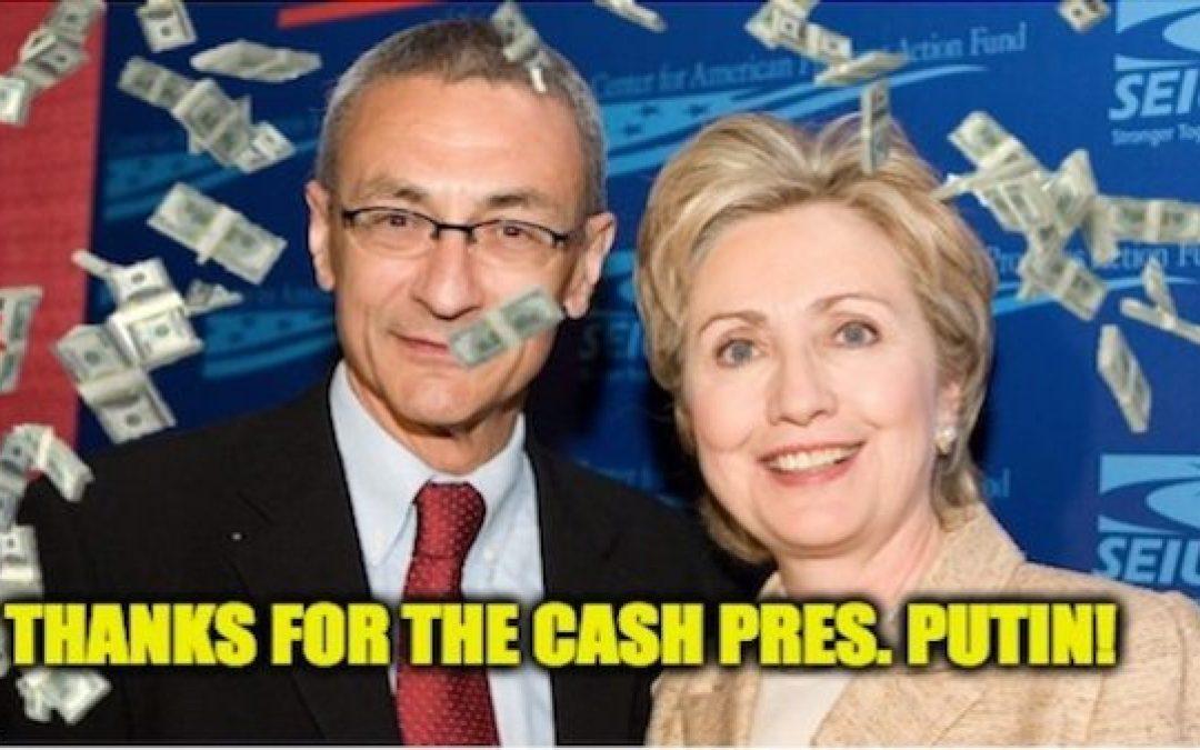 FINALLY! A Russian Connection…It's John Podesta From Team Clinton
