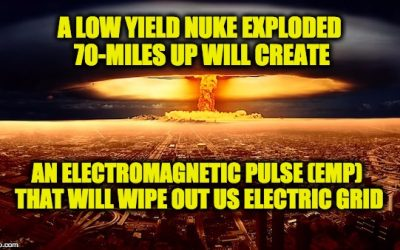 N. Korea Threatens To Use H-Bomb For EMP Attack, Destroying U.S. Electric Grid