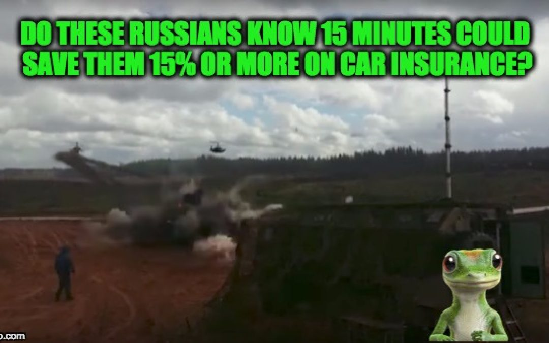 Russian Helicopter Fires Into Observation Area With Civilian Bystanders