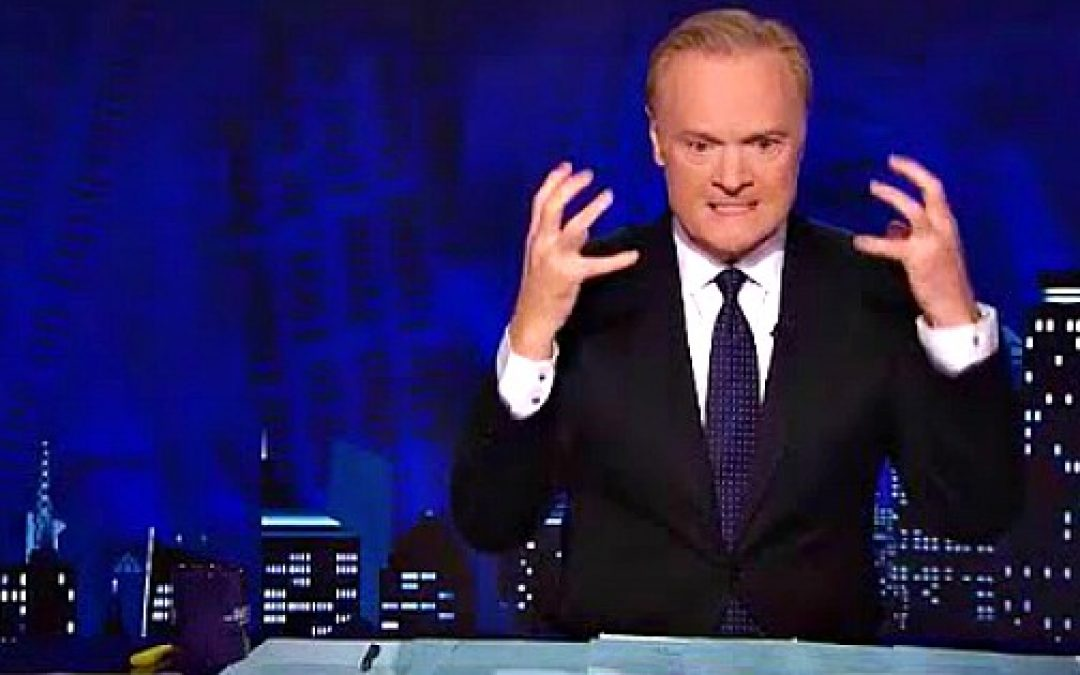 MSNBC's Lawrence O'Donnell Goes Viral, and Not in a Good Way