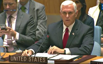 "Pence Berates the UN Human Rights Council says They ""Don't Deserve their Name"""