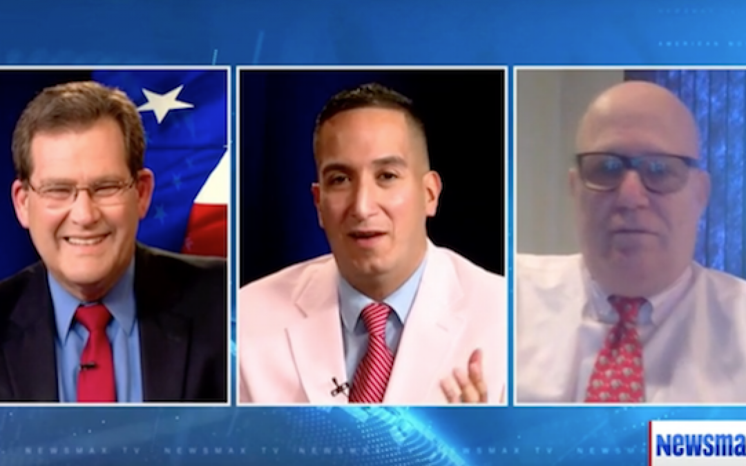 The Lid Was A Guest On 'Newsmax Now' Hosted By Bill Tucker