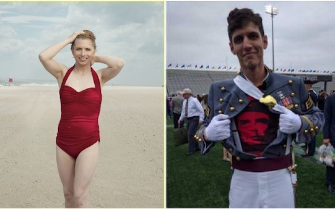 Kaepernick/Commie Loving Army Officer Was Inspired By Chelsea Manning