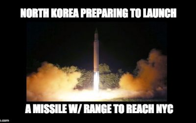 Report: North Korea About To Launch Long Range Missile That Can Reach New York