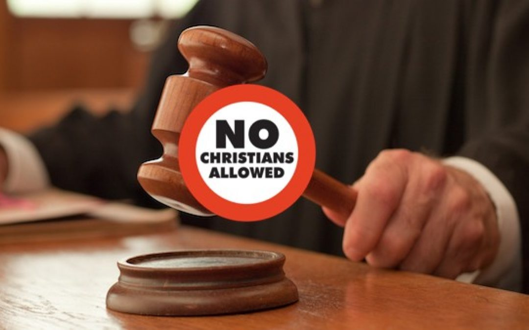 Are Senate Democrats Saying Christians Can't Serve As Federal Judges?