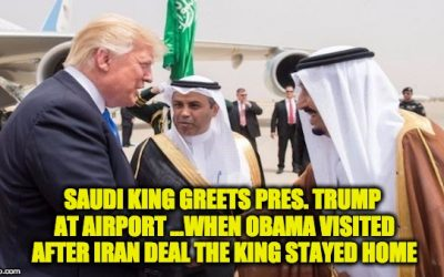 Why Is The Media Ignoring Saudi King's Praise Of Trump's Iran Strategy?