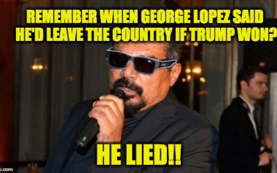 George Lopez Gets Booed Into Oblivion After Anti-Trump Tirade At Charity Event