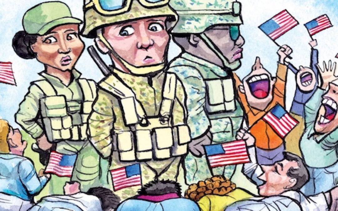 British Mag.The Economist Writes That U.S. 'Soldier Worship is Problematic'
