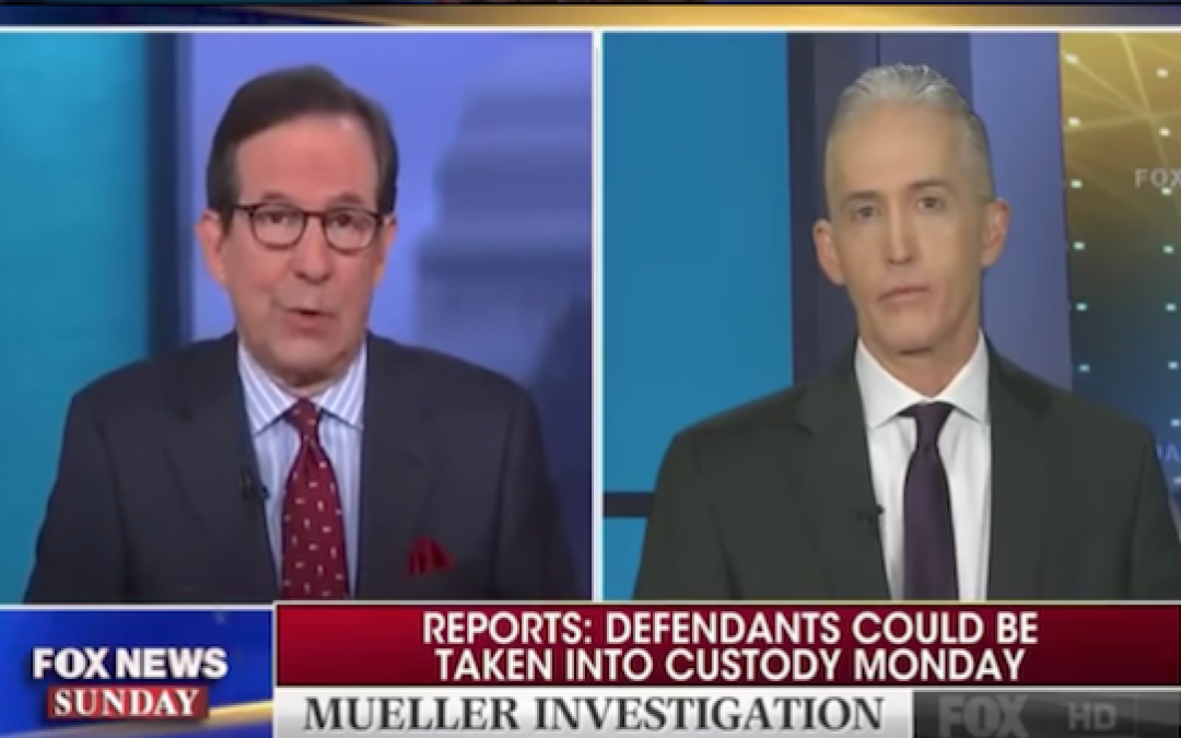 Leak To CNN Of Mueller Indictment LAMBASTED By Trey Gowdy