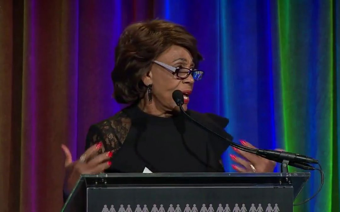 "Mad Maxine Waters  Assassination Threat? Threatens To ""Take Out Trump"""
