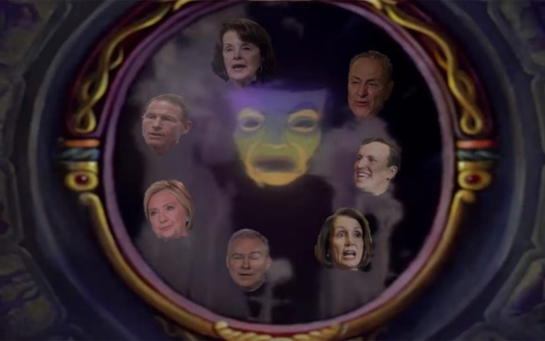 Magic Mirror On The Wall Who's The Dumbest Anti-Gun Democrat Of All