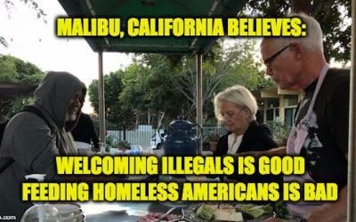 Sanctuary City Malibu Tells Church To Stop Feeding US-Born Homeless