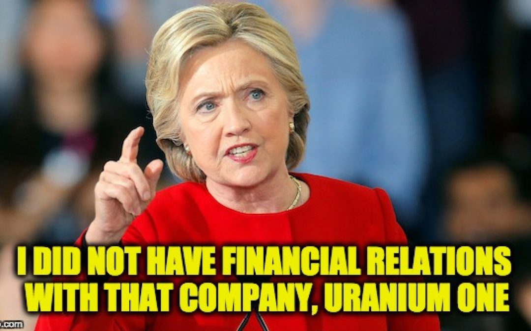 Uranium One FBI Informant Is Revealed: Will Testify, Provide Evidence