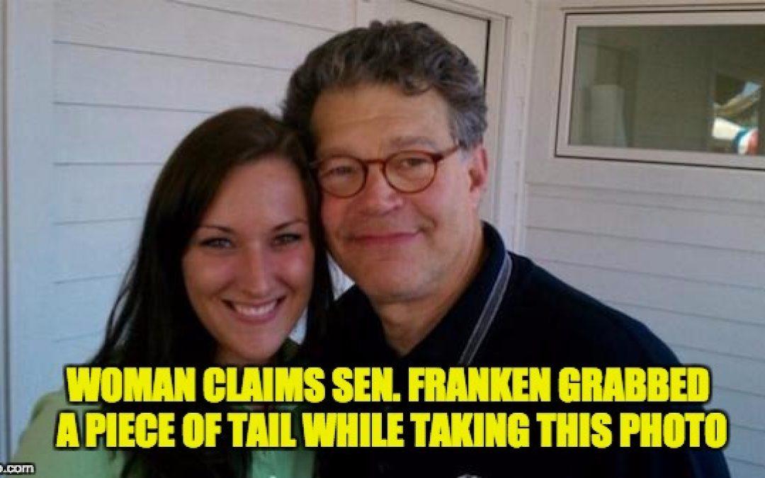"New Accuser Tells CNN, Al Franken ""Totally Grabbed My butt"""