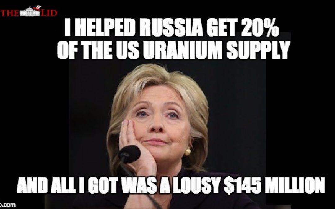 FBI Informant Told Uranium One Deal Went Through Because Of Politics