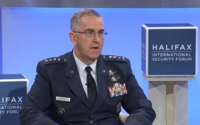 "CALM DOWN MEDIA! On Illegal Nuclear Order Question USAF Gen. Gave ""Standard"" Answer"