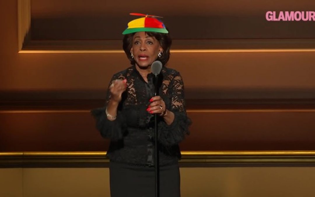 Mad Maxine Waters Shouts 'Impeach 45' at Awards Show, Crowd Cheers