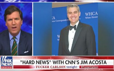 "Tucker Carlson Rips Jim Acosta ""A New One"""