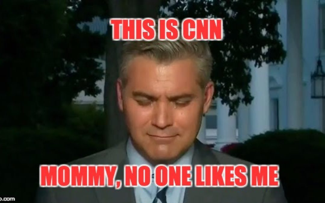 "Jim Acosta's Latest Self Serving Anti-Trump Tirade, Calls for ""Resistance"""