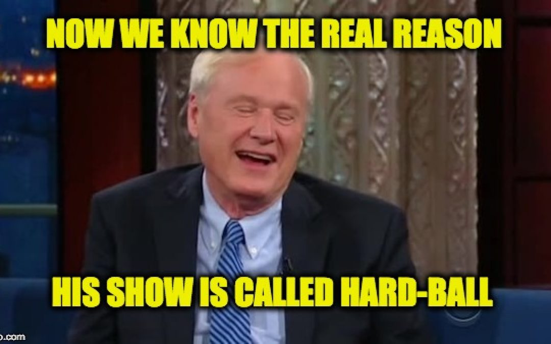 Chris Matthews Is The Latest Sexual Harassment Headline