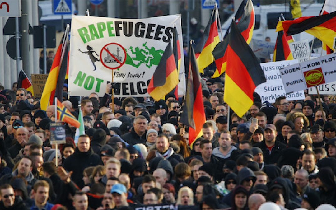 Berlin's New Year's Eve Safe Zones To Protect Women From Refugee Rapists