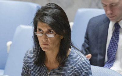 Nikki Haley Cuts The UN Purse Strings By $285 Million