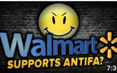 Looking For ANTIFA Fan Gear? Walmart's Got It