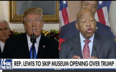 Rep. Lewis Refuses To Go To Civil Rights Museum Opening Because Trump is Going