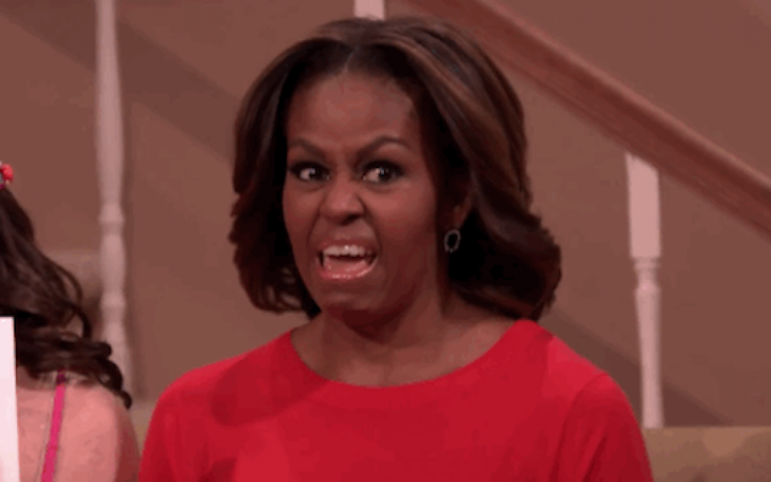 Five Times Michelle Obama Embarrassed Herself This Year