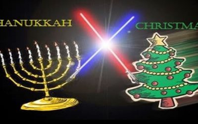 Hannukah Starts On Tuesday So Here's 18 Differences Between Chanukah & Christmas